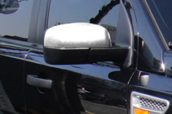 Land Rover Discovery 4 Chrome Mirror Covers - Half Cover